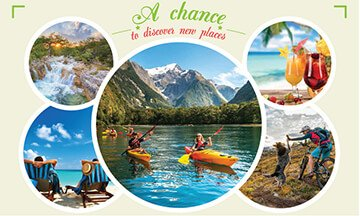 Explore new places with 20% DISCOUNT now
