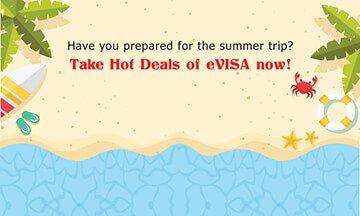 Summer 2018 hot deal of eVISA