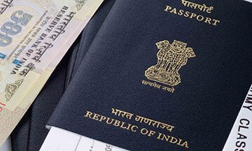 Applying for a regular visa for India