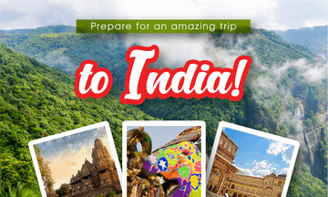 Top 3 places for a wonderful trip to India